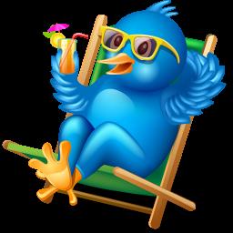 Twitterbird Relaxing